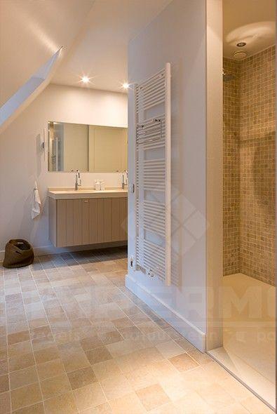 natuursteen, impermo, natuursteen vloertegels, natuursteen wandtegels, natuursteen mozaiek, travertin, badkamer