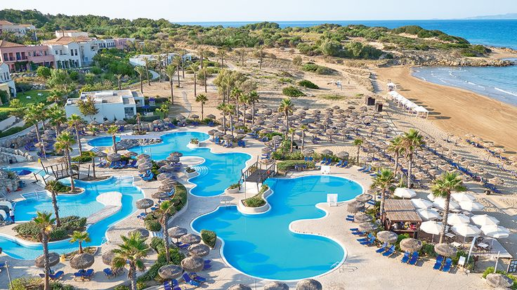 Olympia Oasis - 2 km of sandy beach ideal for children & endless pools    #AllInclusiveHotels  #FamilyHotels  #FamilyVacations