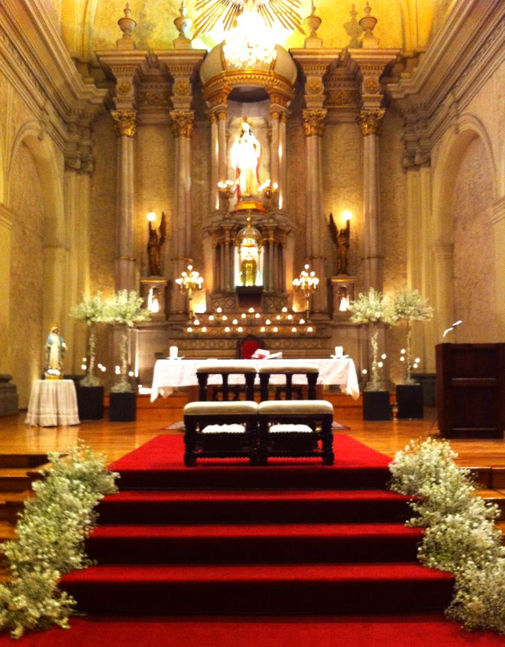 Decoracion de Iglesia