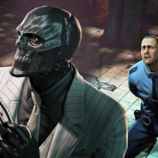 Roman Sionis, The Black Mask, a great villain; the masks people wear.