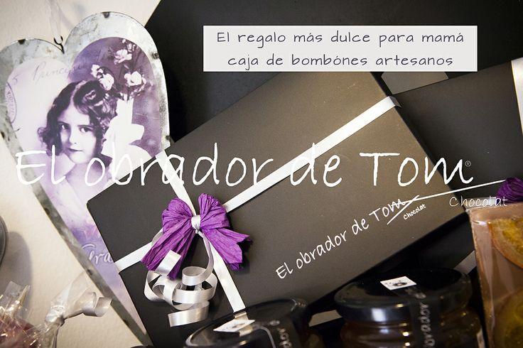 Bombones artesanos, cestas y cajas con nuestrosproductos dulces y originales. www.elobradordetom.com