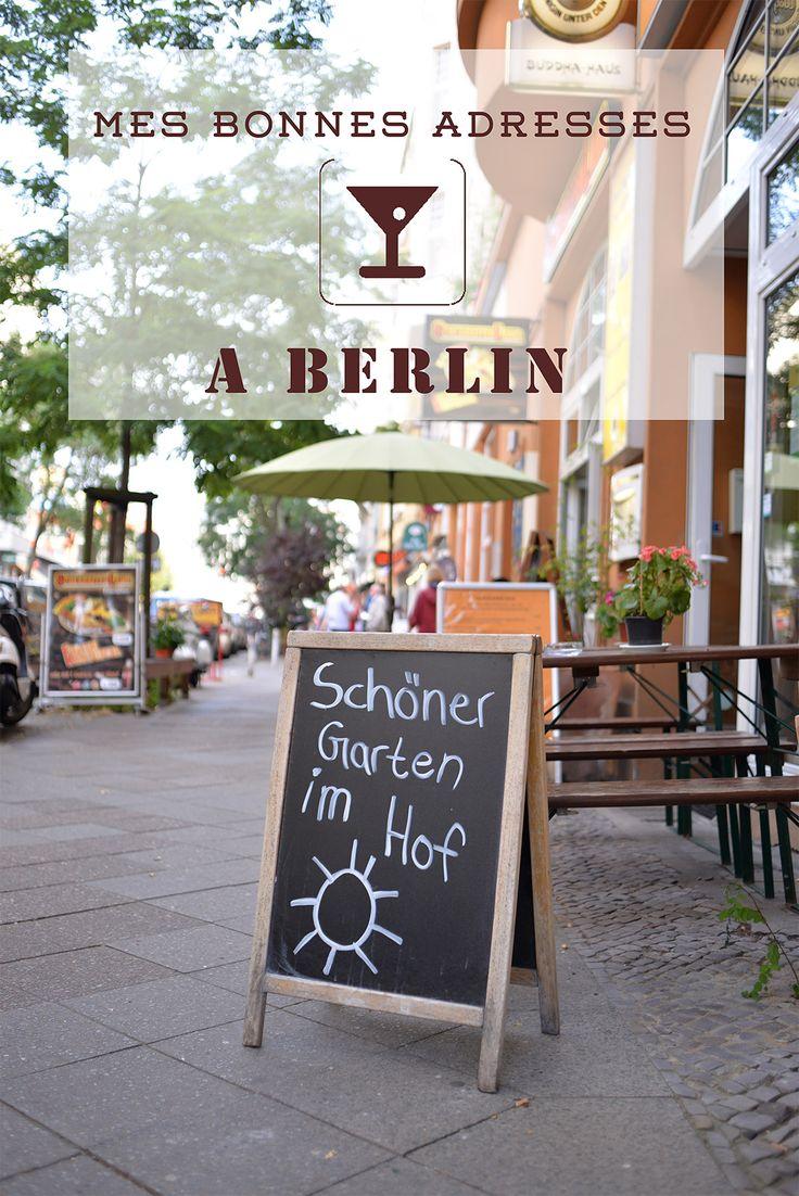 Mes meilleures adresses à Berlin