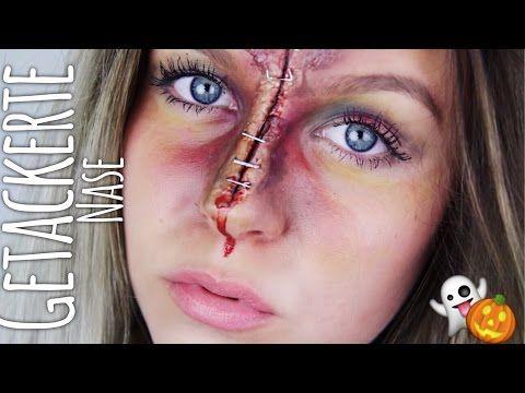 HALLOWEEN verletzte Hand - HORROR Nageldesign   #CreepyHollow   ViktoriaSarina - YouTube