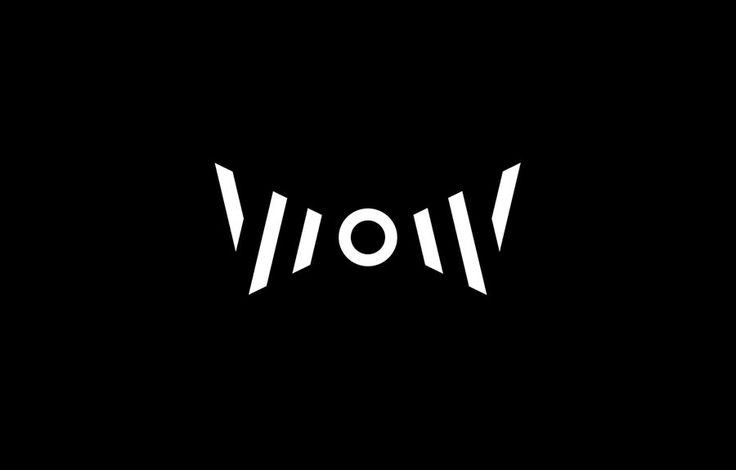 The logo works both as a wordmark and symbol. It cleverly uses the acronym W.O.W (Wall of Wally) within a bow tie silhouette while still preserving the look of the letterforms. It is simple, sleek, with a strong concept.
