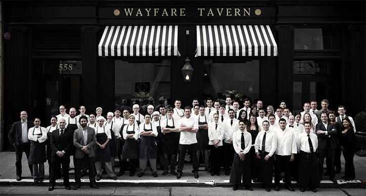Wayfare Tavern, San Francisco, a brilliant spot for dinner (and lunch), with a turn of the century charm.