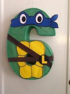 Resultado de imagen de piñata tortugas ninja