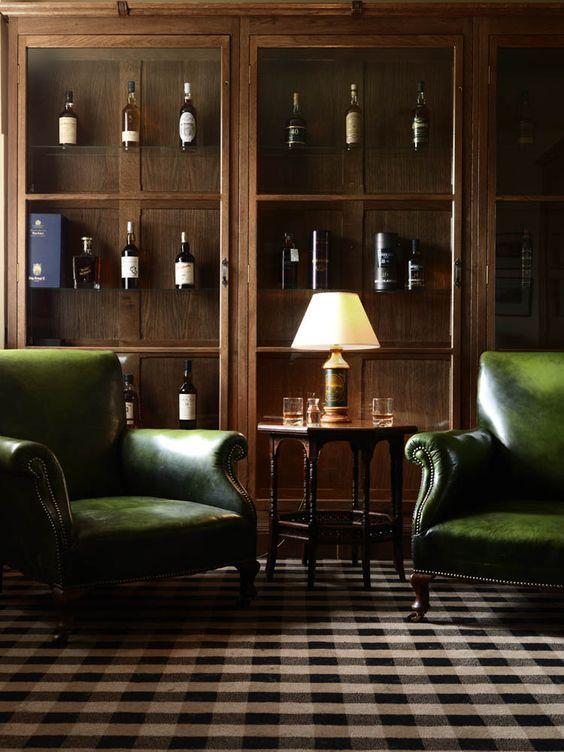 12 Best Gentleman S Smoky Lounge Sample Or Mood Board
