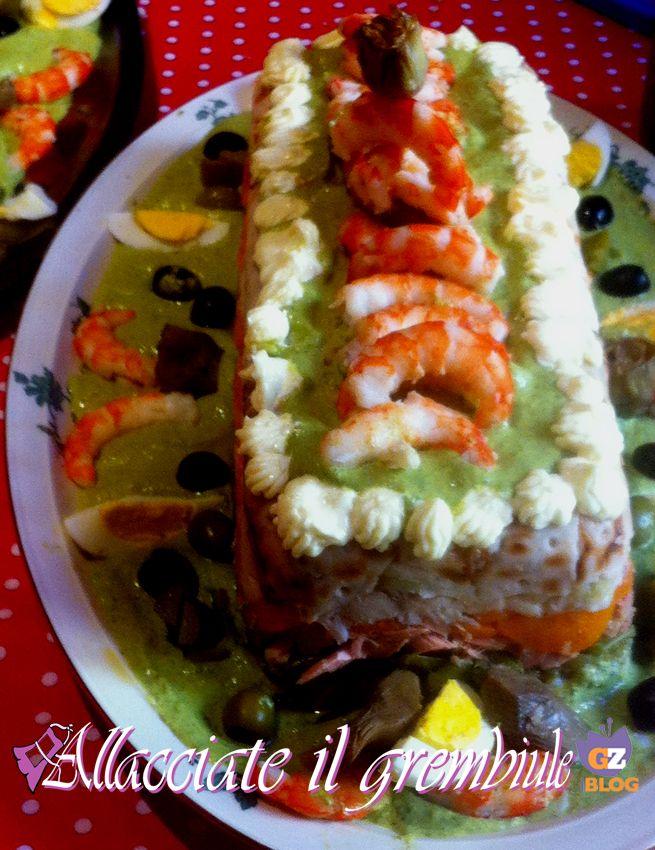 CAPPON MAGRO ricetta originale genovese infallibile  Genovesi  Pinterest  Food Hot dog buns