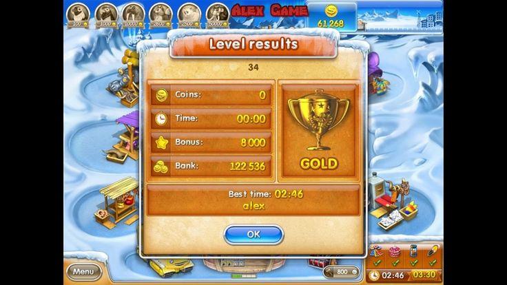 Farm Frenzy 3 Ice Age (level 34) only GOLD Веселая ферма 3 Ледниковый период (уровень 34) Золото