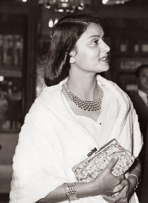 Maharani Gayatri Devi of Jaipur