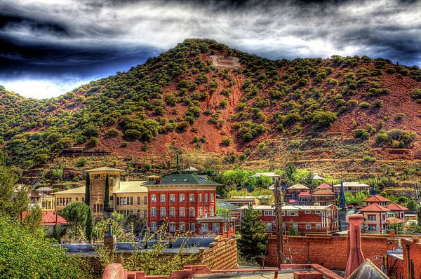 Bisbee, Arizona-I absolutely LOVE this place and I've stood in this exact spot! I can't wait to go back =D