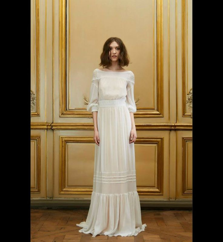 Robe de Mariée 2015 : la robe romantic-chic de Delphine Manivet