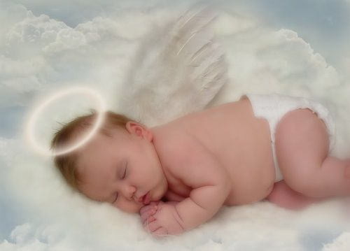 Little Boy Angel in Heaven - Bing Images