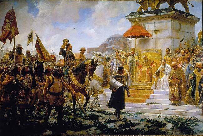 La Gran Compañía Catalana fue un grupo de mercenarios de la Corona de Aragón enviado a defender las fronteras del Imperio Bizantino contra los turcos. Al final acabaron conquistando un señorío en la Península Balcánica, los Ducados de Atenas y Neopatria.