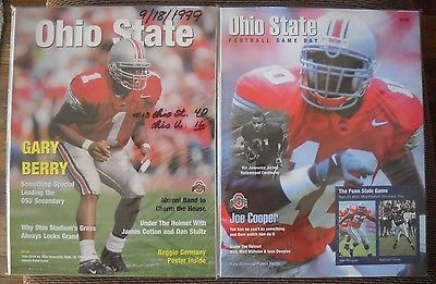 PPD! -'92 & '94 Michigan at Ohio State & '00 Spring Game Programs-Ex/NrMt!