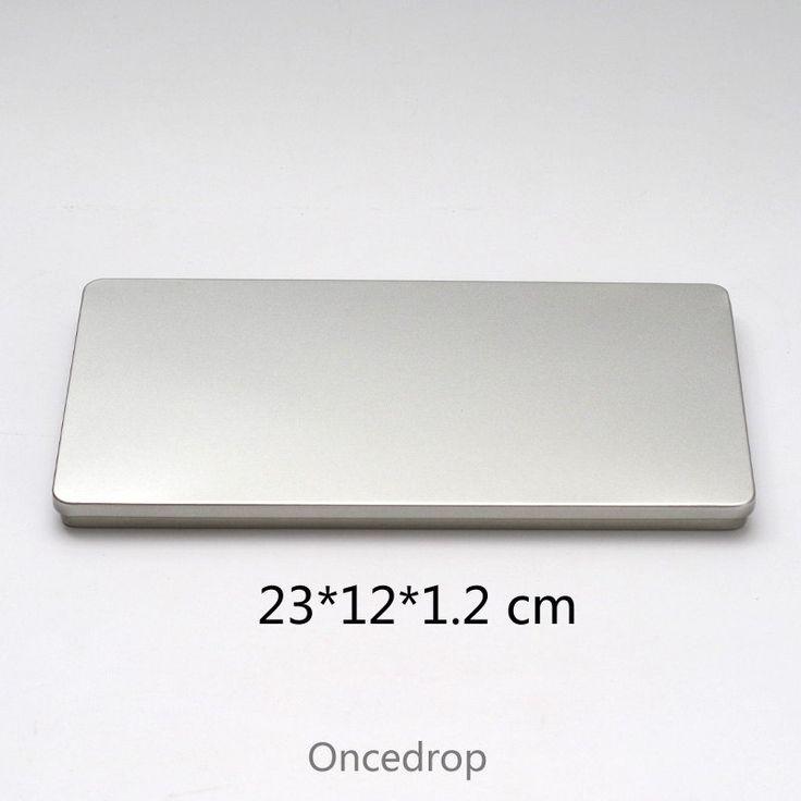 23cm Rectangular Blank Tin DIY Storage Box Keep Photo/Letter/Card/Bill/Painting Metal Boxes - Qty 1