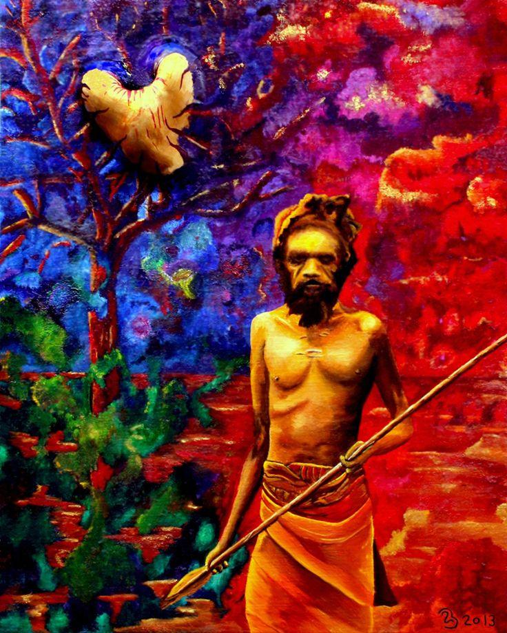 Bernhard Leyendeckers. Dreamtime - Tjukurpa De spirituele wereld van de Australische Bush Mannen