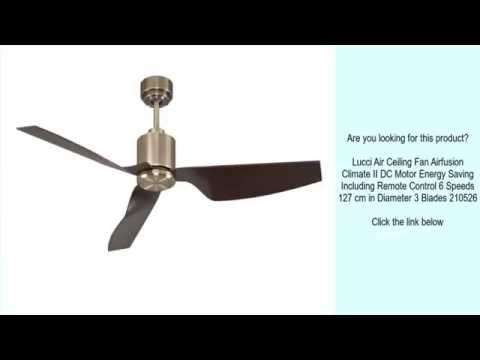 Lucci Air Ceiling Fan Airfusion Climate II DC - Tavan Vantilatörü