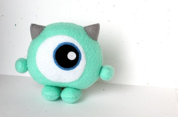 Etsy の PDF Pattern  Chibi Monster by typingwithtea