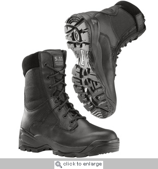 """511 Tactical A.T.A.C. 8"""" Storm Sidezip Waterproof Boot + Free Shipping & 3 Pairs of Socks + FREE BOOT KNIFE"""