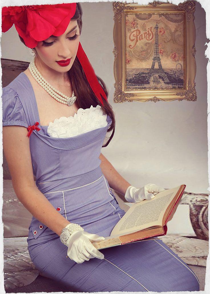Picnic in Paris Wiggle Dress