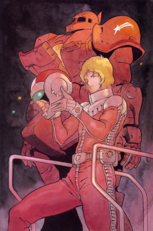 """Char """"The Red Comet"""" Aznabel."""