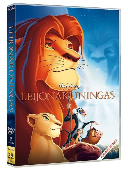 Leijonakuningas elokuvassa leijonanpentu Simban on määrä nousta kuninkaaksi isänsä Mufasan jälkeen. Mufasan luihu veli näkisi kuitenkin mieluiten valtaistuimella itsensä. Kesto 1 t 25 min. K7.