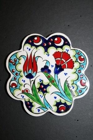 Turkish Ceramic Nihale (Trivet)
