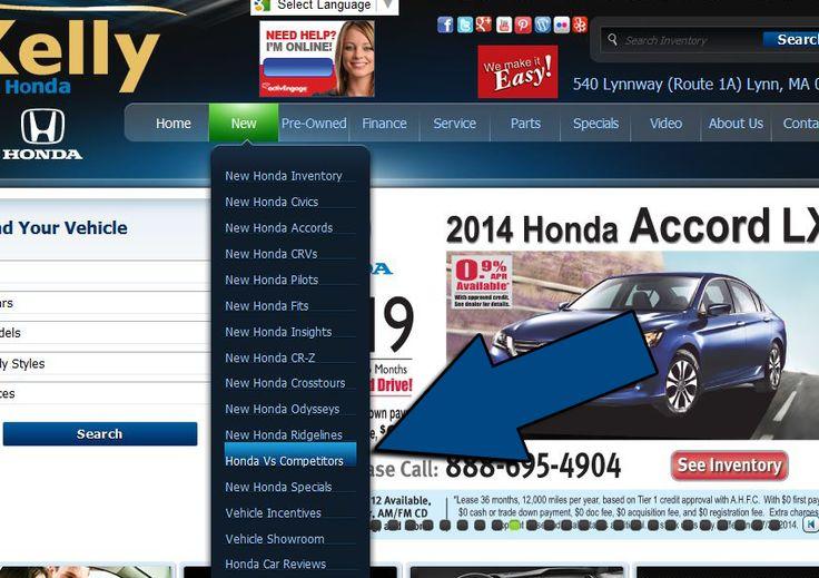The new way to shop #HondaVsCompetitors #KellyHonda #WeMakeItEasy