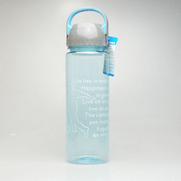 New style 1000ML Fuguang fashion outdoor sports water bottle  Eco-friendly and have stock healthy plastic water bottle