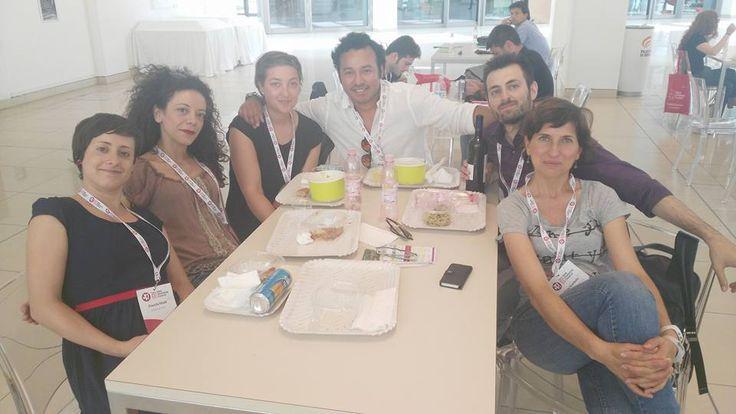 Pausa pranzo di #networking al #wmf15 @sofiaflorindo9 @silviascarbolo9