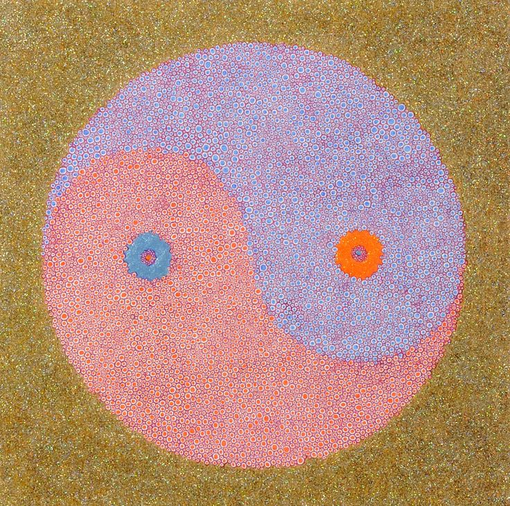 陰陽垂極図 / Tomoaki TARUTANI #ART #Contemporary ART #POP ART #Mandala #曼荼羅