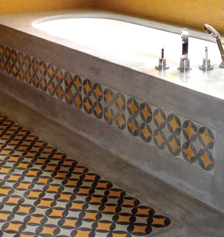 Blattchaya tiles concrete tile cement artisanal design for Bathroom designs lebanon