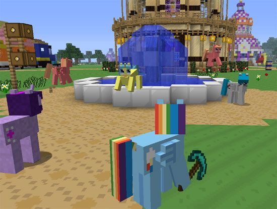 minecraft my little pony mod