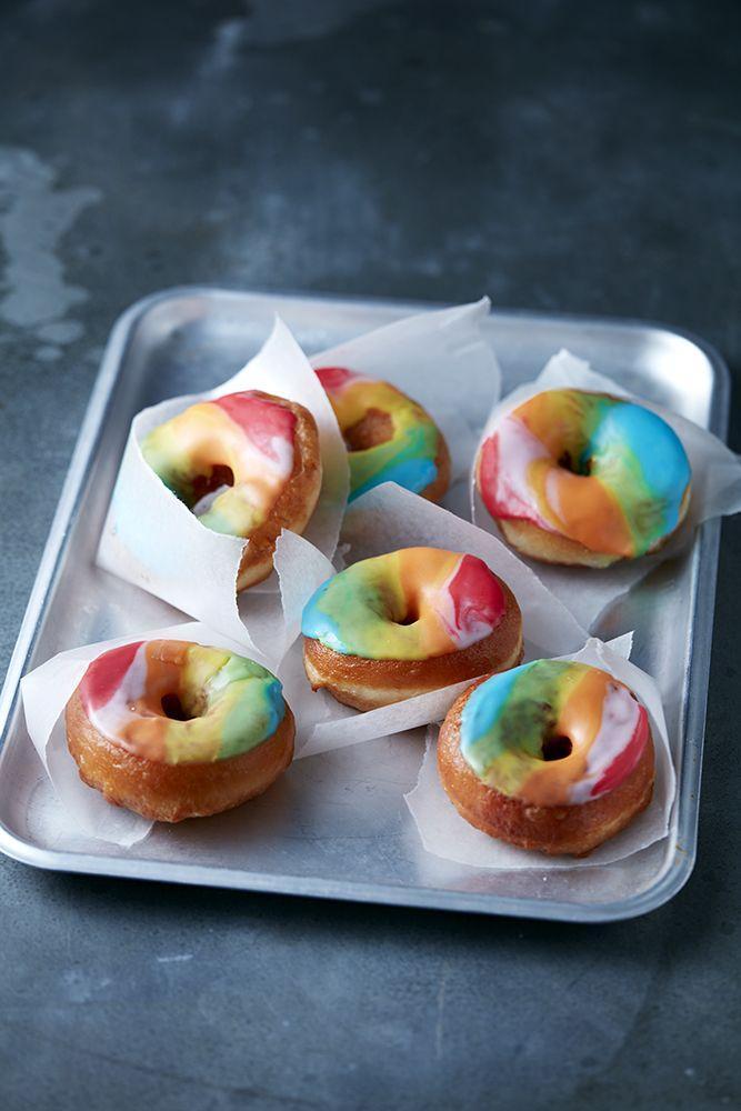 Rainbow doughnuts Photo: Danielle Wood
