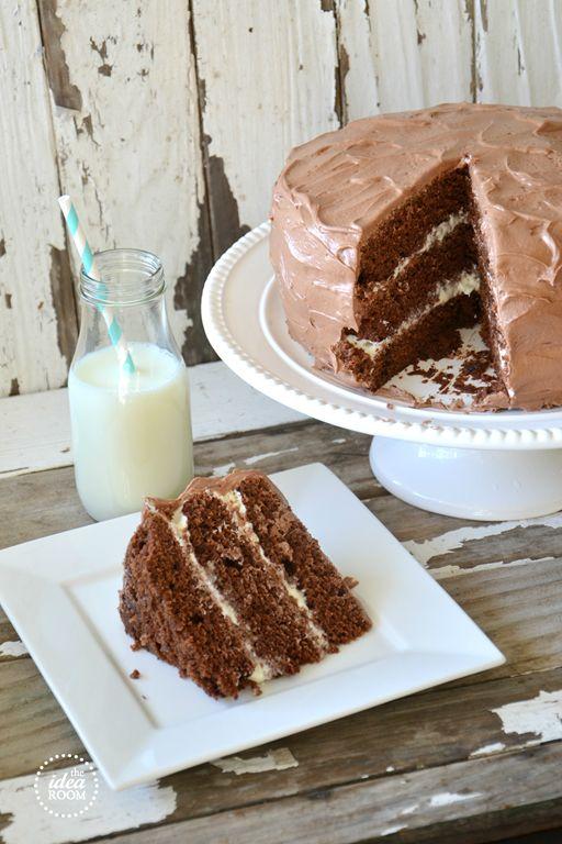Chocolate-cake-recipe | theidearoom.net