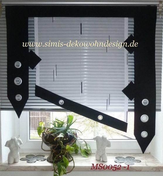 Gardinen   Gardinen Modern MS0052   Ein Designerstück Von Simmis Bei DaWanda