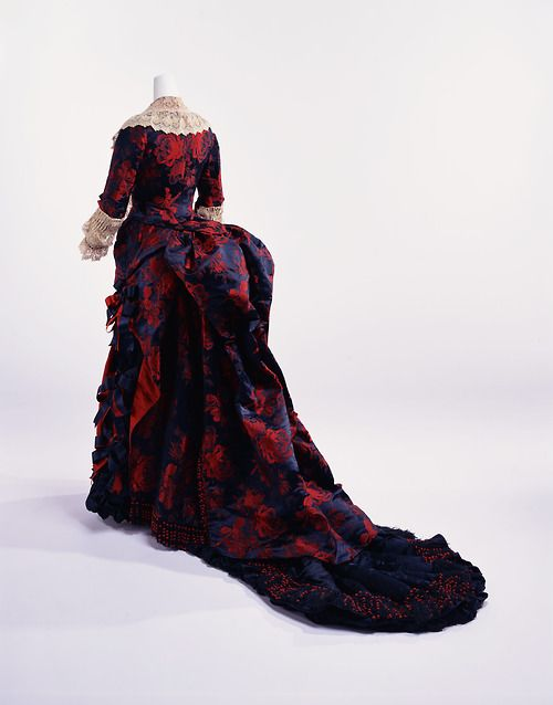 Dinner Dress late 1870s The Kyoto Costume Institute