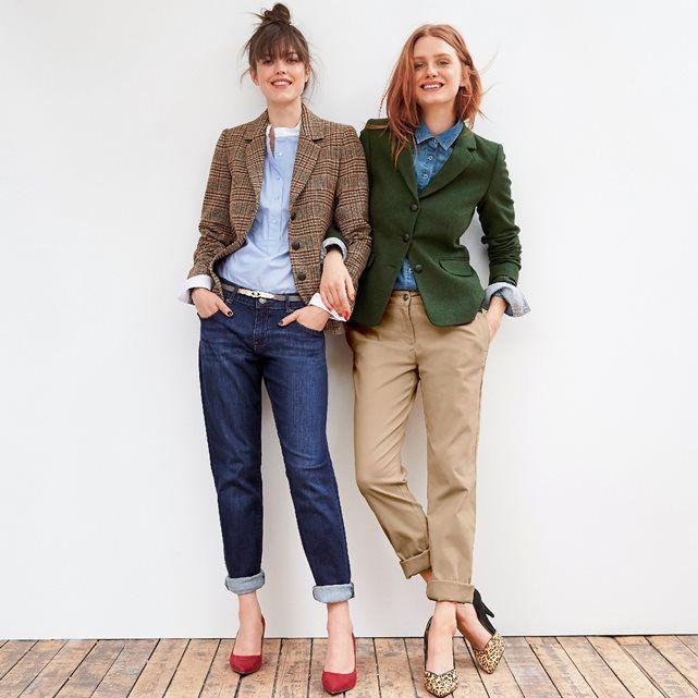 Bedruckte Jacke aus Shetland-Wolle R essentiel | La Redoute Mobile