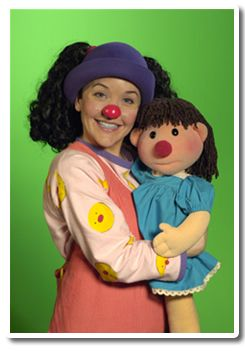 Lunette the Clown and her dolly, Molly. I LOVED this show!!