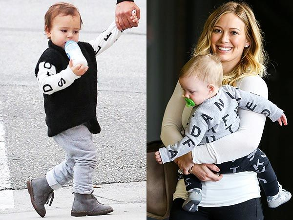 Forget pastel pink and blue and cute teddy bear prints! Hollywood's hippest tots are rocking some seriously cool duds from new kids label NUNUNU Baby.