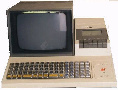 Retro Computer Friday!!! - Presenting the Sharp MZ-80K!! Built in monitor and tape drive, some models even had a plotter built in as well. With no native OS, you could load your own, and even program in FORTRAN on this baby!!!