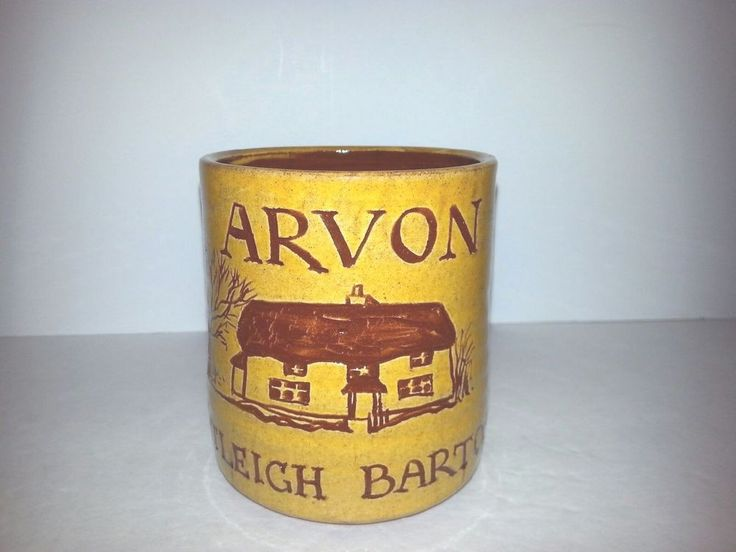 Bideford Pottery Coffee Tea Cup Mug ARVON Totleigh Barton 8 oz | Collectibles, Decorative Collectibles, Mugs, Cups | eBay!