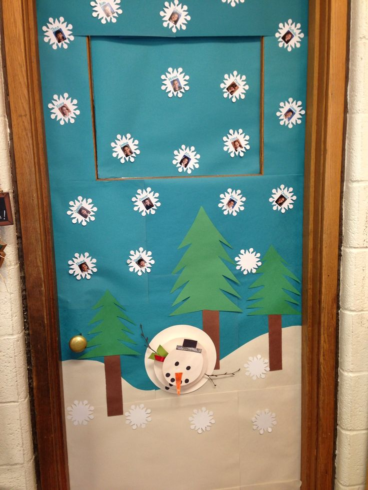 Classroom Door Decoration Ideas For Preschool Christmas ~ Best images about cubicle christmas office decorating