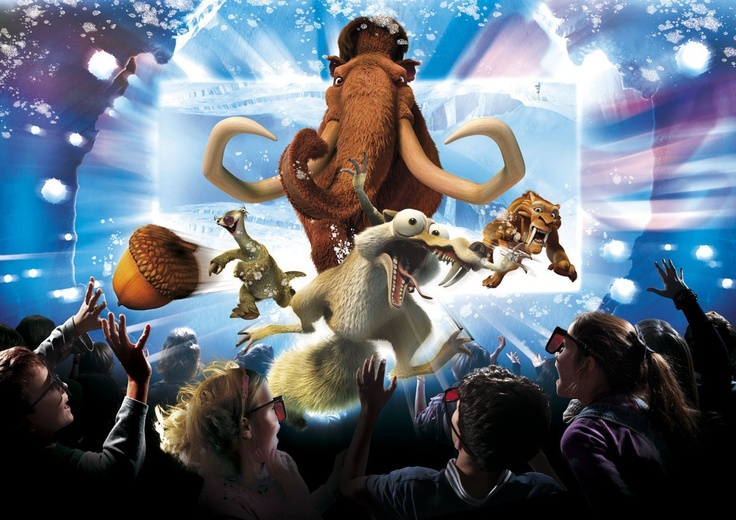 Ice Age 4D // Alton Towers Resort