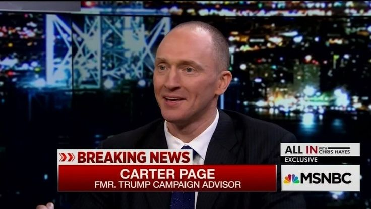 The strange saga of former Trump campaign and Russian energy executive Carter Page continues. This time in the form of a letter Page sent to Senate Intelligence Committee chairs Richard Burr and Mark Warner. From Business Insider:         In a letter...