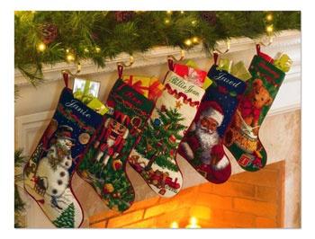 Needlepoint Stockings