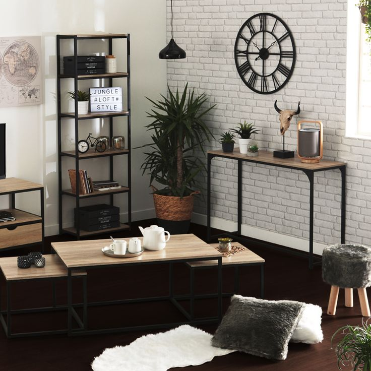 les 32 meilleures images du tableau mon style industriel sur pinterest. Black Bedroom Furniture Sets. Home Design Ideas