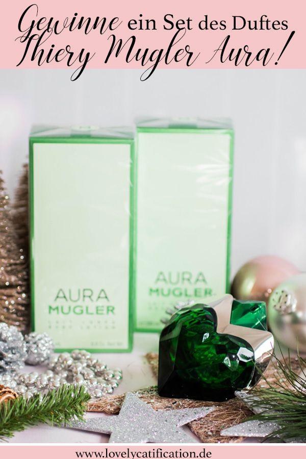 ♥♥♥ Gewinne ein Thierry Mugler AURA Duftset im heutigen Adventskalender Türchen auf Lovelycatification.de ♥♥♥ #aura #duft #gewinnspiel