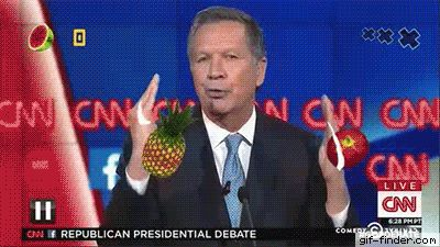 John Kasich and his ninja style | Gif Finder – Find and Share funny animated…